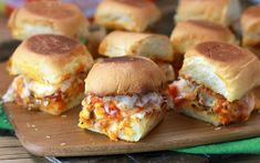 Chicken Parmesan Sliders (and 9 more bite-sized recipes for Super Bowl Sunday)
