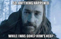 Bit awkward - Game Of Thrones memes