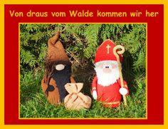 Von draus vom Walde kommen wir her... So langsam wird es Zeit und der hl. Nikolaus und sein Knecht Ruprecht, auch Krampus genannt, machen sich auf den Weg zu all den Kindern, um ihnen Geschenke zu...