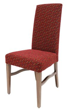 The Lary chair is a beech framed chair and has an upholstered seat & back.
