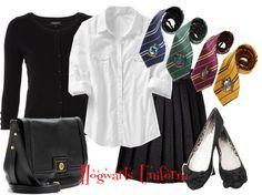 """Hogwarts Uniform"" by justme123-342 on Polyvore"