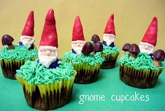 Gnomes. completely edible. Love it!!!! One day I'll do this!