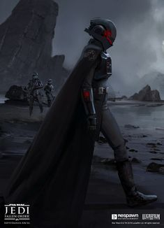 ArtStation - JEDI: Fallen Order Inquisitor Second Sister, Jordan Lamarre-Wan Star Wars Sith, Rpg Star Wars, Clone Wars, Star Citizen, Star Wars Characters Pictures, Images Star Wars, Female Characters, Second Sister Star Wars, Star Wars Fallen Order