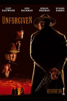 "8/24/14 12:56a Warner Bros. Pictures ""Unforgiven"" 1992 ONE OF MY FAVORITE EASTWOOD MOVIES"