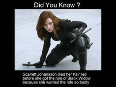 'Scarlett Johansson' as 'Black Widow'