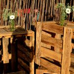 Isle flowers moved to add to the venue decor Wedding Flowers, Make It Yourself, Wood, Decor, Decoration, Woodwind Instrument, Timber Wood, Wood Planks, Trees