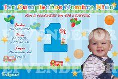 Invitaciones Primer Cumpleaños Para Descargar Al Celular 1  en HD Gratis
