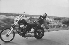 Hell's Angels bike rider. Bakersfield, CA, 1965. Bill Ray. LIFE Magazine.