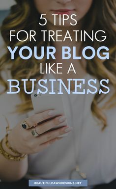 Oftentimes, people will treat their blog like a hobby. If you want your blog to succeed you have to treat it like a business. #blogging #bloggingtips #businesstips
