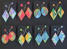 Gallery of Polymer Clay Jewellery - fionaabel-smith.co.uk Fantastic way to…