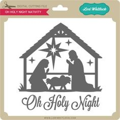 Silhouette Design Store - View Design oh holy night nativity