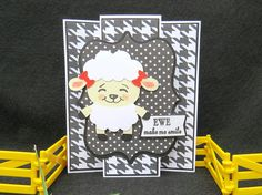 Notecard Set, Girlfriend Card, Thank You Card, Birthday card, Greeting Card, Ewe Make Me Smile by ACardOccasion on Etsy