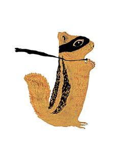 Animals by Grace Lee, via Behance