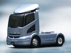 Mitsubishi Fuso Concept '2004 Big Rig Trucks, Tow Truck, Cool Trucks, Renault Nissan, Mitsubishi Motors, Future Trucks, Future Car, Track Bus, Camper