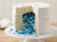 'Baby gender reveal cake' haha!!