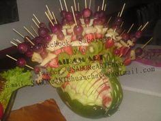 Tallado en Frutas y Verduras