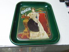 COCA COLA 75TH ANNIVERSARY COLLECTIBLE OPERA DRINK SERVING TRAY...