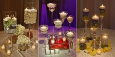 Yanni Design Studio - Wedding Flowers and Decorations Chicago - Gallery - Guest Table Centerpieces 2