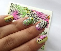 feather nails water decal nailrt tollas