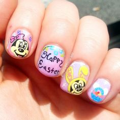 gonewithscarlett easter #nail #nails #nailart