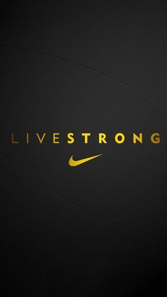 Edited Nike LiveStrong #Mobile #Wallpaper for #Android | JUST DO IT ✔