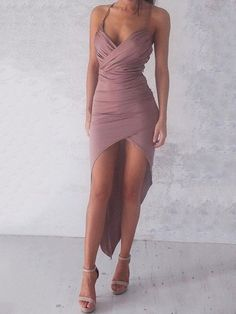 Sexy Sweetheart Sheath High Low Prom Dress Party