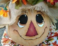 - Before After DIY Fall Halloween, Halloween Crafts, Scarecrow Crafts, Scarecrow Face Paint, Dremel, Pumpkin Decorating Contest, Fall Scarecrows, Creation Art, Easy Fall Crafts
