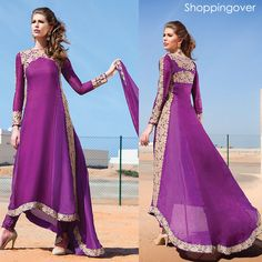 salwarkameez kaftan india bollywood designer pakistani unstitched freeship in Clothing, Shoes & Accessories, Cultural & Ethnic Clothing, India & Pakistan | eBay