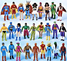 [Mego - 'World's Greatest Superheroes' action figures, circa 1970s] In honor of San Diego Comic-Con, we look at the Web's 10 biggest (superhero) comic book artists.