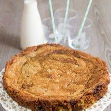 Salted Caramel Cookie Dough Cake