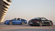 The new Porsche Targa
