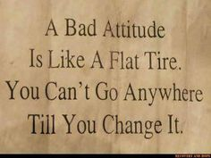 A Bad Attitude is like... (click image)