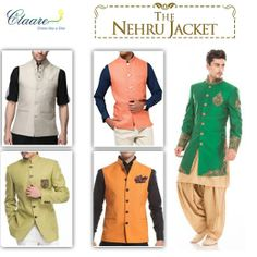 The Nehru Jacket is one of the most elegant ensembles. Find out an amalgamation of trendy with formal ways to sport the garment. Read more : http://blog.ctaare.com/?p=978