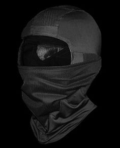 Tactical Face Mask Uses mesh fabric on top and mask portion, space for comms $26