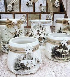 Mason Jar Christmas Decorations, Christmas Mason Jars, Christmas Store, Christmas Candles, Xmas Decorations, Handmade Christmas, Christmas Diy, Mason Jar Crafts, Mason Jar Diy