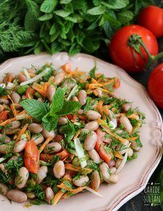 Salatalar ve tarifleri Pasta Salad, Cobb Salad, Turkish Recipes, Ethnic Recipes, Diet Recipes, Healthy Recipes, Food Concept, Middle Eastern Recipes, Iftar