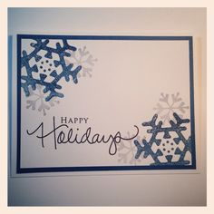 Snow flake card