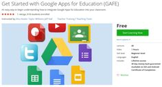 Get Started with Google Apps for Education (GAFE)  http://hii.to/Eygei0-Be  #udemy #coupon #discount #couponcode