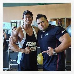 Sadik Hadzovic getting ripped for Mr. Olympia's Men's Physique 2014