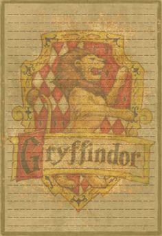 Gryffindor Stationery Option3 by Sinome-Rae.deviantart.com on @DeviantArt