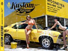 Kustom Kulture - Label 619 : Art, Design et comic-books Grease, Bars Tiki, 67 Pontiac Gto, Pin Up, Welding Shop, Kustom Kulture, Sexy Girl, Car Girls, Car Wash