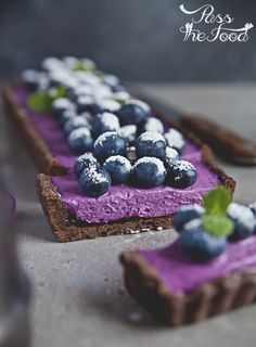 Chocolate, Blueberry & Mascarpone Tart Recipe