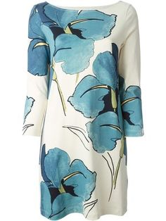 Comprar Tory Burch floral shift dress.