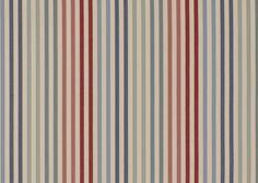 """Ascot"" woven here in Britain. We love the fun multicoloured stripes #thenaturalcurtaincompany #curtains"