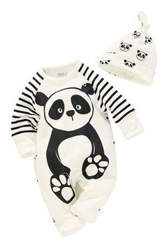 Buy Panda Sleepsuit Set (0-18mths) from the Next UK online shop