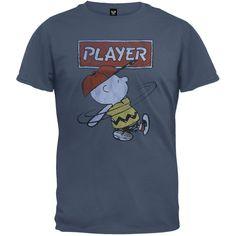 Peanuts - Player Soft T-Shirt