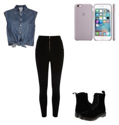 """""""Cute outfit"""" by fungiral on Polyvore featuring Jean-Paul Gaultier and Dr. Martens"""