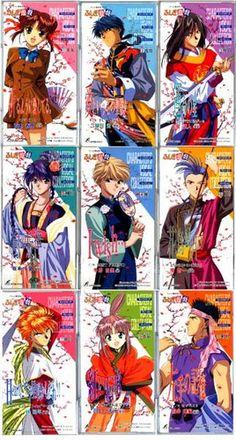 Fushigi Yuugi. I'm reading the manga now and I cant stop. It's soooo good ^^