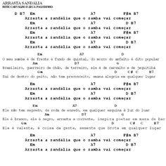 MEU CAVAQUINHO: Cifra - Arrasta Sandália - Beth Carvalho e Zeca Pa...