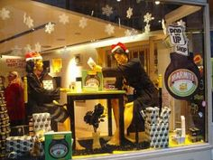 Marmite's pop up shop on Regent Street London from Red C Marketing, Advertising Agency and Retail marketing Agency Blog article. Who could just walk by this window display? PopUp Republic